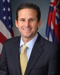 Sen. Brian Schatz, D-Hawaii, sponsored an amendment to a controversial pipeline bill that would have put the U.S. Senate on record as acknowledging that humans are responsible for ongoing climate change. Courtesy Wikimedia.