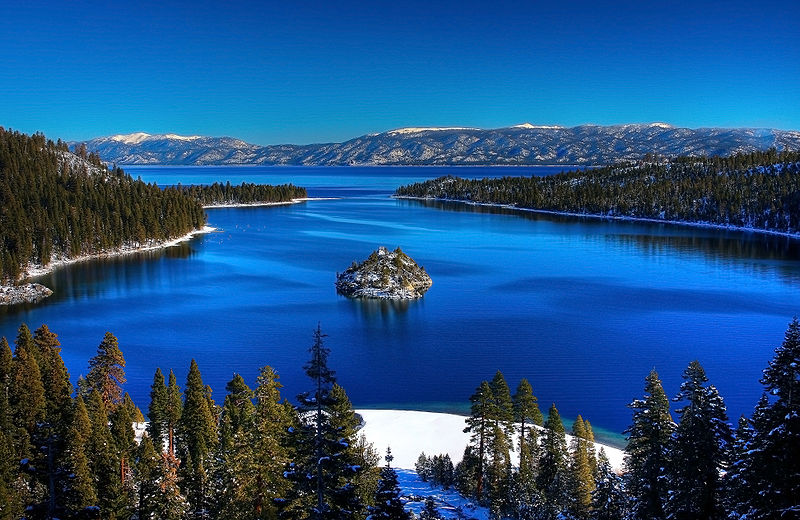 Emerald Bay, Lake Tahoe - photo courtesy Wikimedia