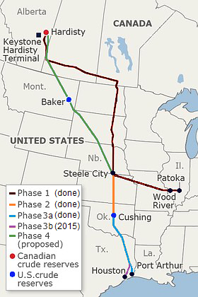 keystone-xl-route